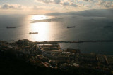 View west from Rock of Gibraltar