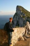 Paul on Rock of Gibraltar