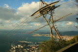Cable Car on Rock of Gibraltar
