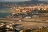 Gibraltar Airport and Runway