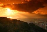Sunset from Rock of Gibraltar