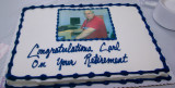 My Retirement Festivities