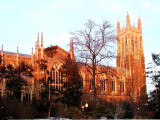 Duke Chapel at Duke University in Durham, North Carolina