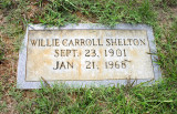 Willie Carroll Shelton (1901-1968)