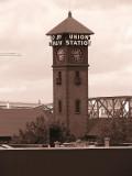 Union Station Sepia