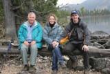 The gang at Jenny Lake