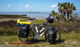 326    Chris - Touring Florida - Surly Long Haul Trucker touring bike