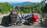 221  Keith - Touring Virginia - Bike Friday New World Tourist touring bike