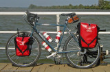 257  Margo - Touring Serbia - Surly Long Haul Trucker touring bike