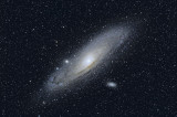 M31 by 400mm lens on Canon 40D