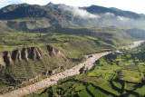 Road to Colca Canyon to see condors