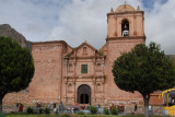 Road north to Cusco - Church of Pucara (Map)