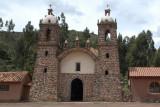 Chapel at Raqchi Inca Site (Map)