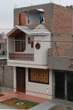 Back in Lima - across the street