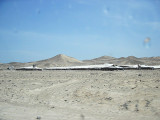 Chicken farms on road to Caral