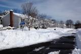 Our street got plowed