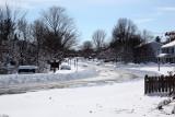 Hiddenbrook Drive (south from our street)