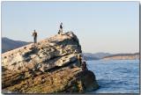 More rock fishing