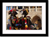 Tie Masks at Plazza Ducale