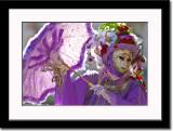 Backlit Purple Mask