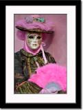 Pink & Green Mask