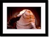 Curved Sandstone Swirl