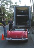 Dennis's New Healey Roadster