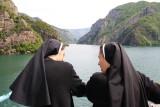 Komani Lake - enjoying the view