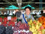 At the market, Tirana