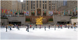 The End of The Skating Season At Rockefeller Center