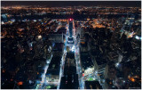 33rd & 34th Street at Night