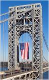 George Washington Bridge  Veterans Day 3