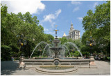 Jacob Wrey Mould Fountain at City Hall Park