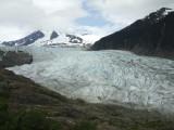The Mendenhall Glacier at Juneau