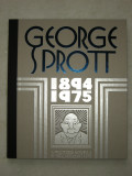George Sprott (2009) (inscribed with original drawing)