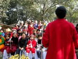 Rahil at the Learning Tree School 2009 Christmas Pageant