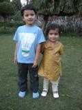 Rahil and Sohani.