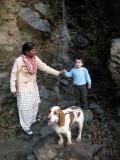 Rahil, Anna, and Kim in Mashobra (2008)