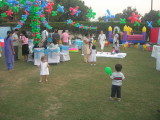Rahil at a birthday party