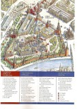 Map of Red Square and Kremlin given to visitors