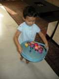 First Easter egg basket