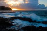 Bølger ved Runde