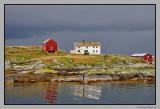 The fishing village Sør-Gjeslingan
