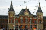 the gilded facade of Centraal Station