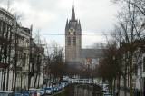 Oude Kerk at the far end