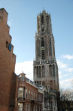 the Gothic Domtoren - a Gothic masterpiece and one of the tallest towers (112 m) in the Netherlands