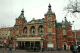 Stadsschouwburg - a renowned theatre opened in the former factory buildings in the Westerpark