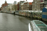 Bloemenmarkt (flower market) - established in 1862, a floating market on one of the oldest canals of Amsterdam