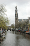Westerkerk - the site of Rembrandt's unmarked grave