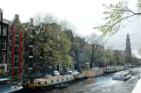 Prinsengracht - with Westerkerk at the far end